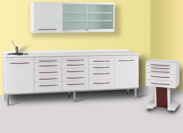 EUROVET nábytek pro zubní ordinace Simple