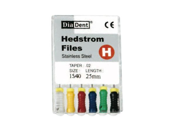 DiaDent Hedstrom / NiTi H-Files