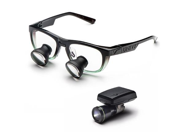 UNIVET lupové brýle galilejský typ