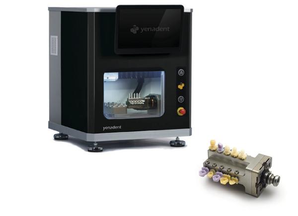YENADENT CAD/CAM frézovací jednotka YenaMill D14P