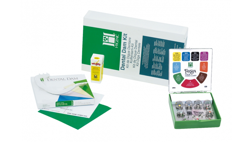 Hygenic Dental Dam kompletní set